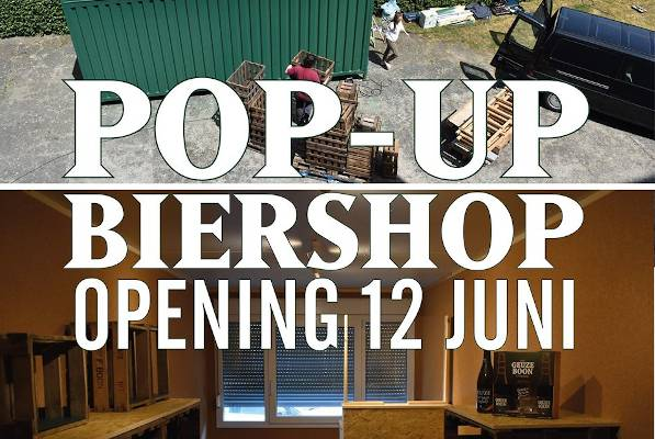 Opening Brouwerij Boon Pop-Up Shop