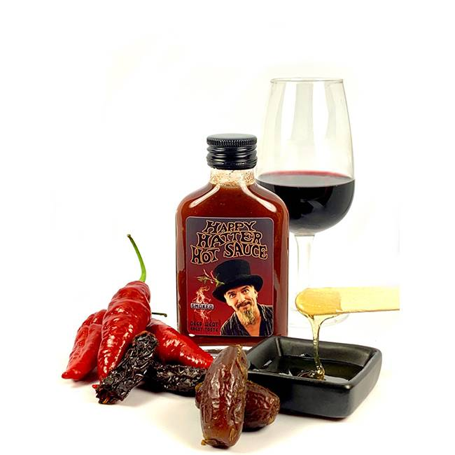 Happy Hatter Hot Sauce Smoked